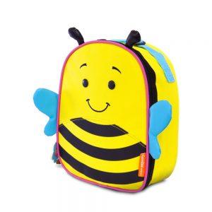 Lancheira térmica infantil let's go! abelhinha – bella – comtac kids – 4038